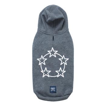 Stars hoodie Grey