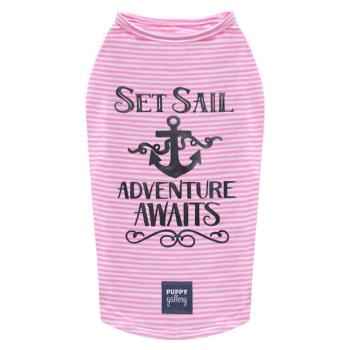 Set Sail T-Shirt Pink