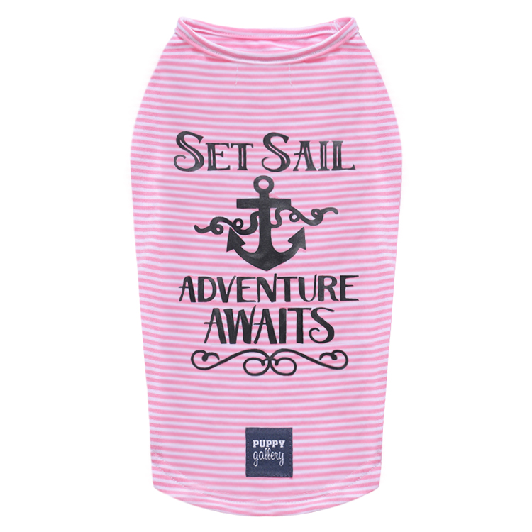 Set Sail T-Shirt Pink