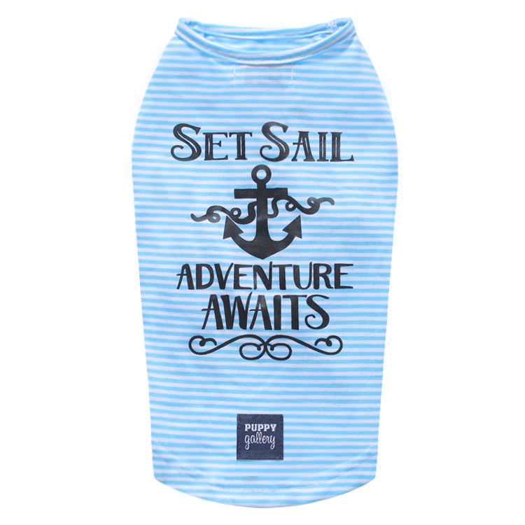 Set Sail T-Shirt Blue