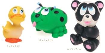 Latex dog toy XS