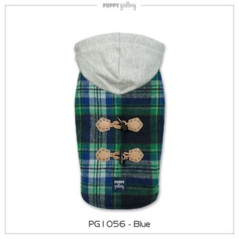 The Plaid Hoodie jacket