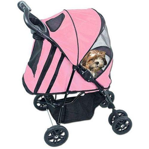 Dog Stroller Pink