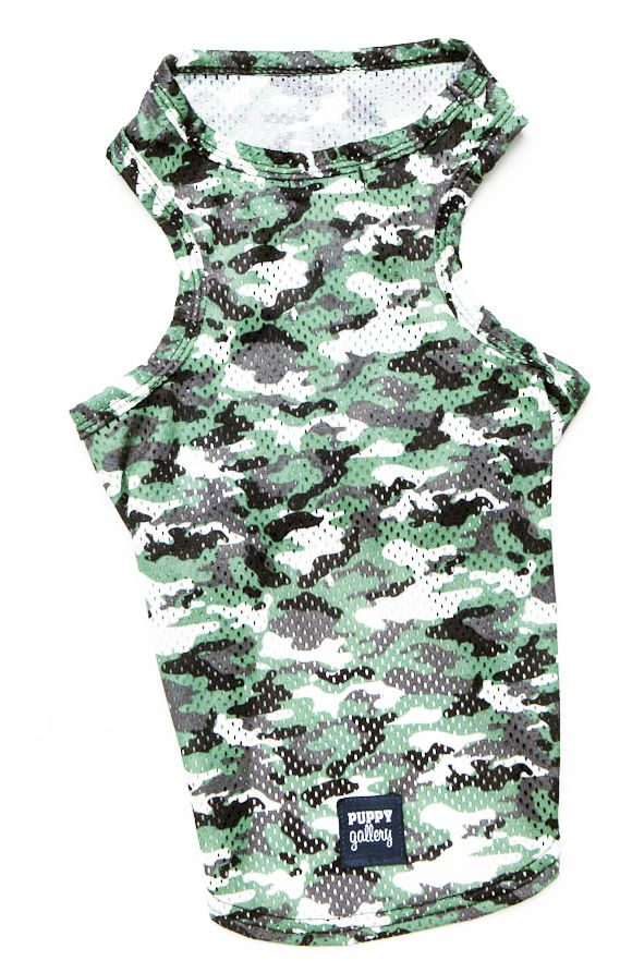 Camouflage T-Shirt Green