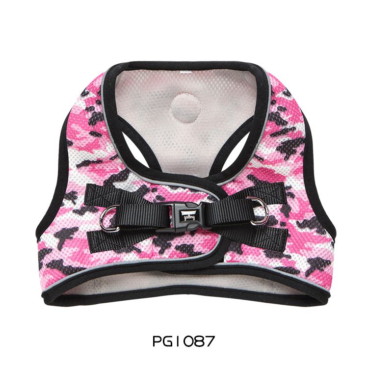 PG Step-in Harness camouflage pink