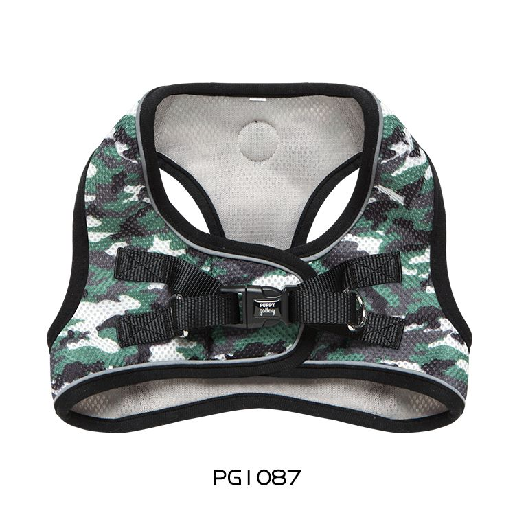 PG Step-in Harness camouflage green