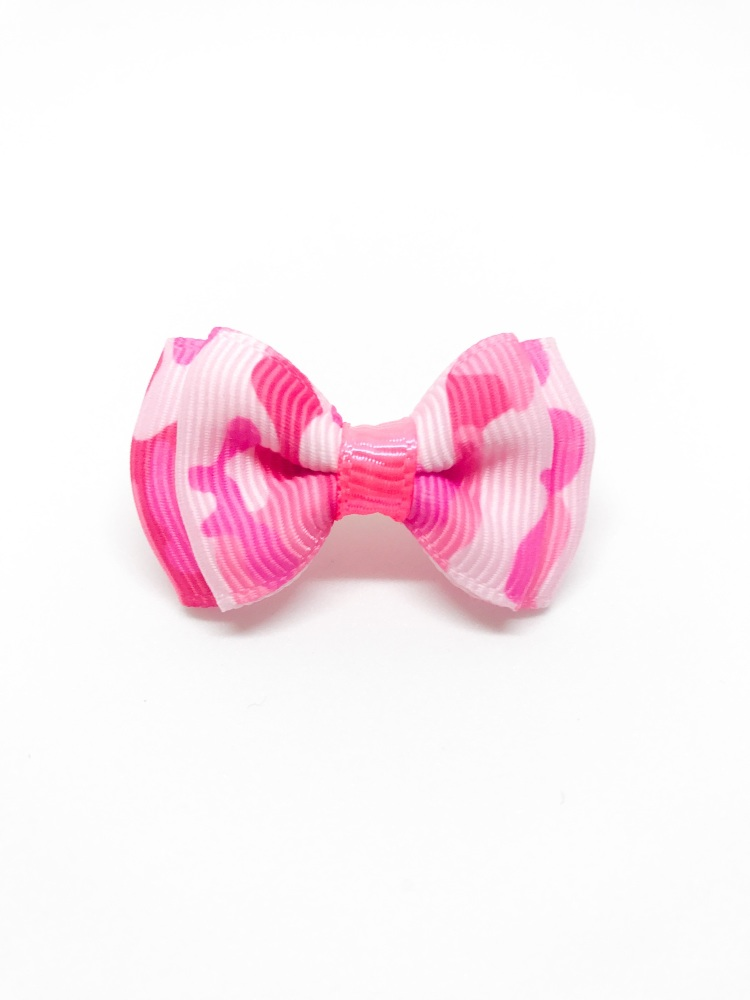 Pink Millitary Bow