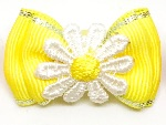 Large Daisies Bow