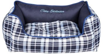 Scotland Navy Dog Bed