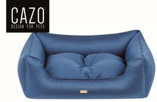 Antibacterial Navy Dog Bed