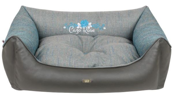 Lux Line Blue Rose Dog Bed