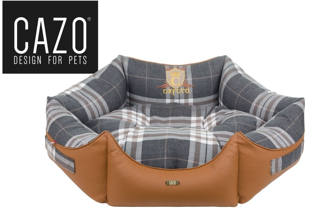 Lux Line Oxford Dog Bed Round
