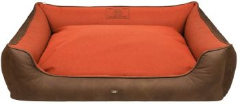 Baker Street Dog Bed Brown Square