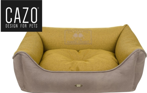 Baker Street Dog Bed Yellow Square