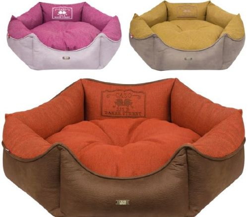 Baker Street Dog Bed Round