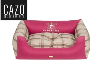 Royal Line Dog Bed Magenta
