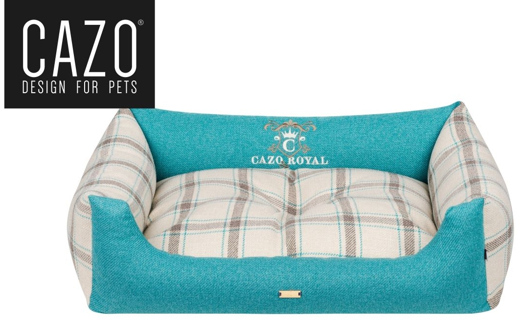 Royal Line Dog Bed Turqoise