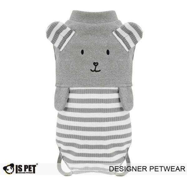 Bear overalls Grey
