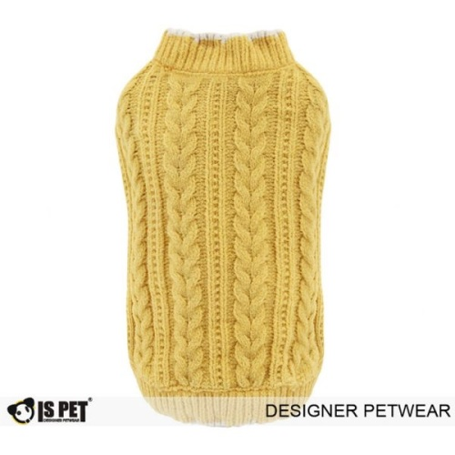 Chenille Sweater Yellow