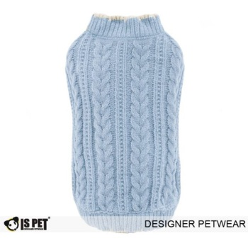 Chenille Sweater Sky Blue