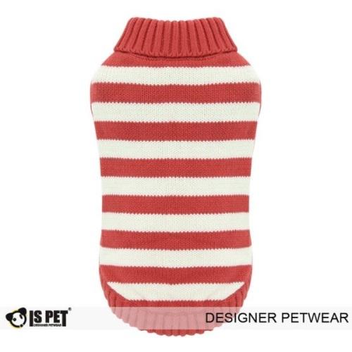 Stripe Sweater Red