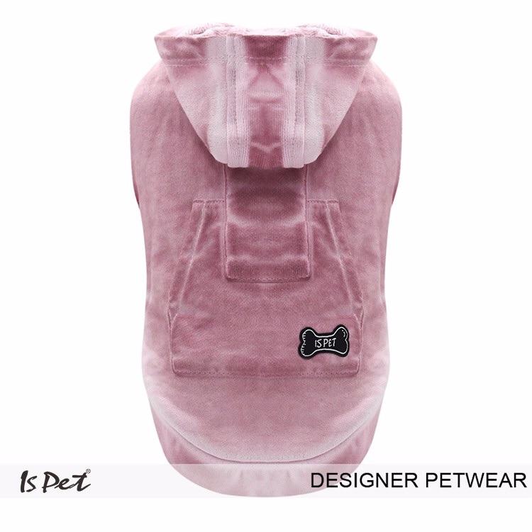 Pink Distressed Hoodie