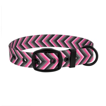 Arrow Collar Pink Grey