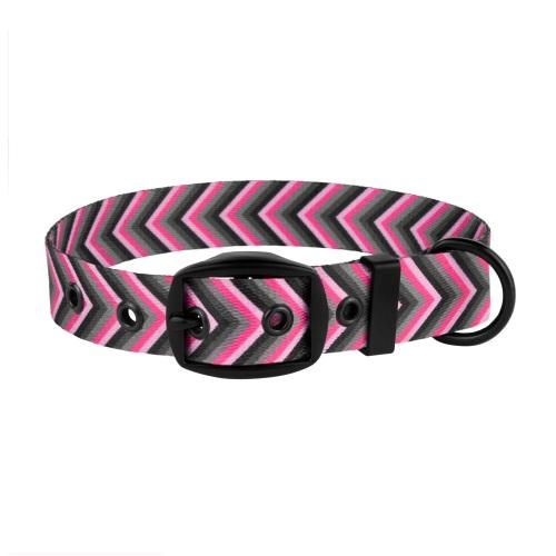 Arrow Collar Pink Grey