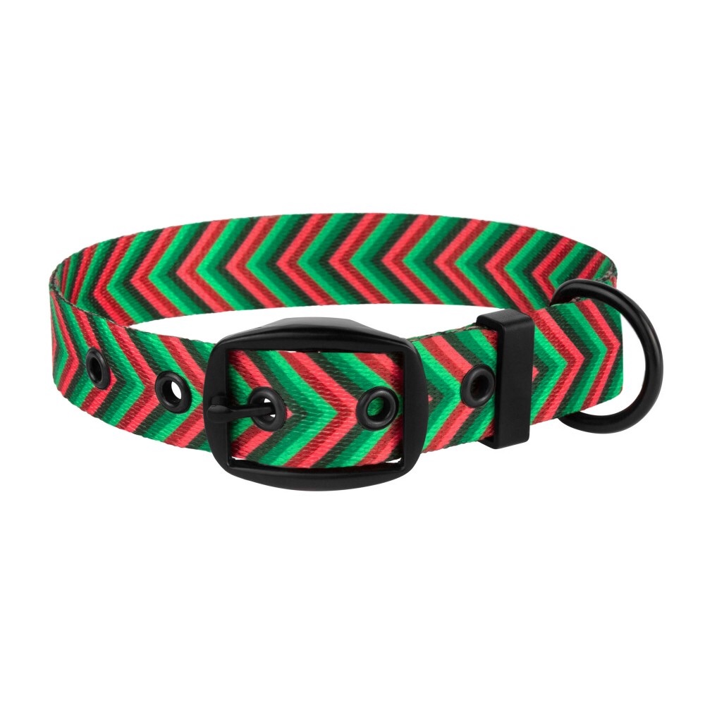 Arrow Collar Red Green