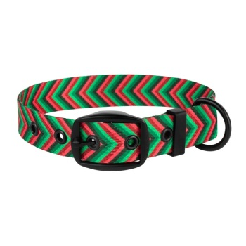 Arrow Collar Red Green