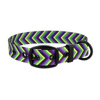 Arrow Collar Purple Lime