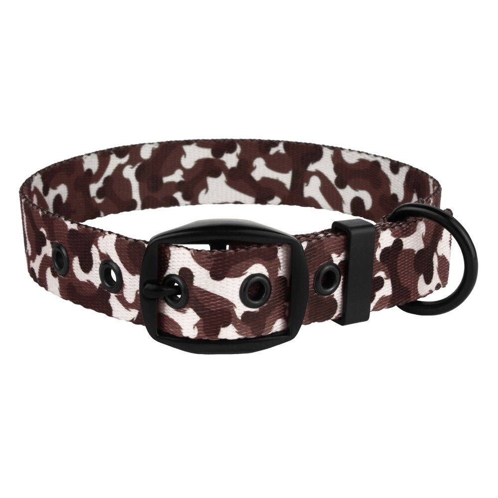 Camo Bone Collar Brown