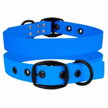Waterproof collar Blue