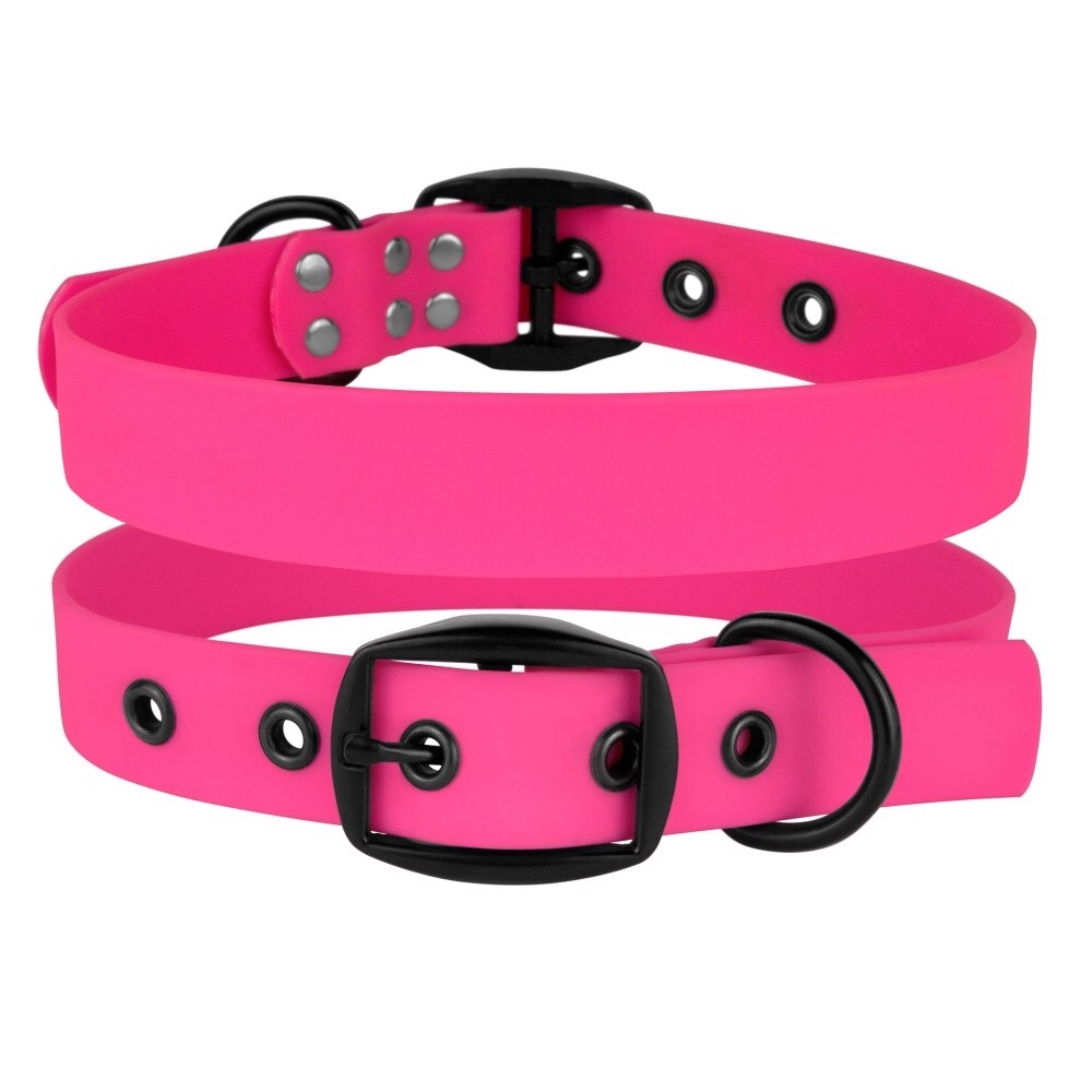 Waterproof collar Pink