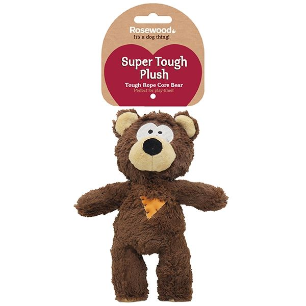 Tough rope core bear