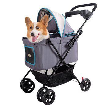Pet stroller Grey