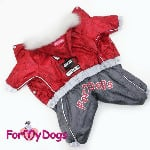 FMD Red Overalls Girls - 3xl, 4xl