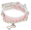 Pink Collar & Lead set