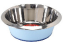 Steel Pastel Bowls with Rim 2450 ml