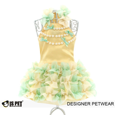 Hawaii pearl dress yellow
