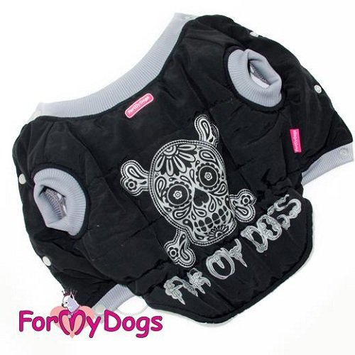 Skull Jacket for Wide Dogs