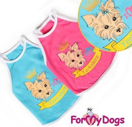 FMD Yorkie Top - S,M,L