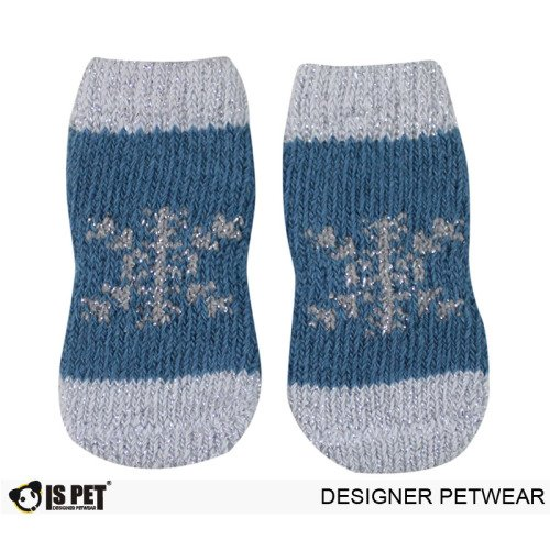 Snow Socks Blue