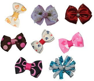 Assorted Pack of 8 bows