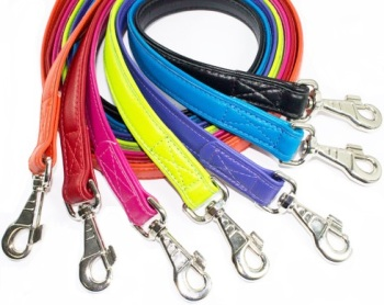 Leather leads 1/2 inch