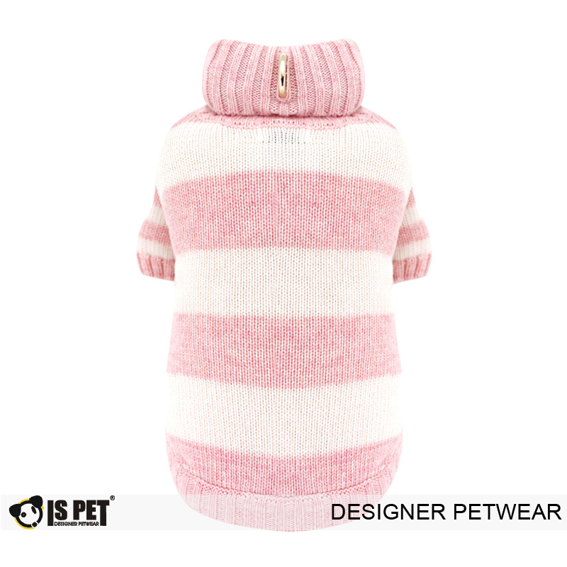 Chacha Stripe Sweater Pink