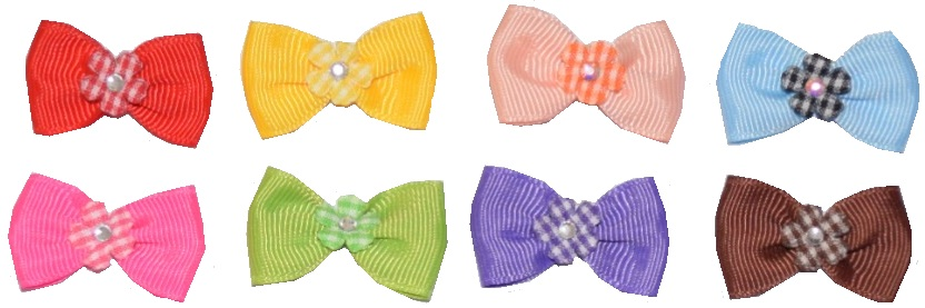Flower Crysta Bow