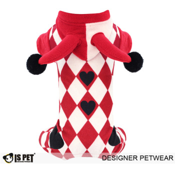 Circus Jumpsuit Red - S