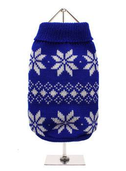 Blue snowflakes sweater