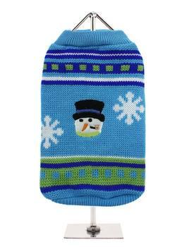 Blue Snowman sweater